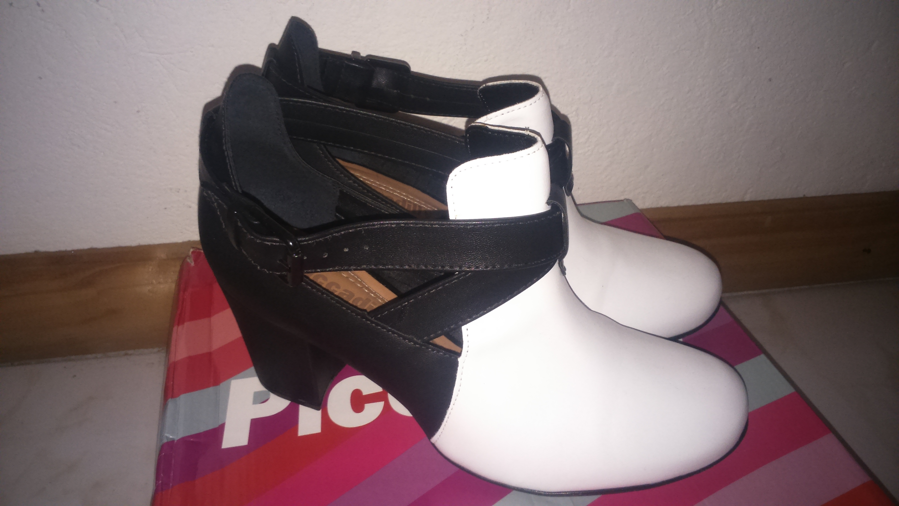 shoesaturday my black and white booties diary of a