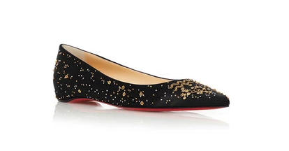 The Aquarius Ballerina Flat by Christian Louboutin   Moda Operandi