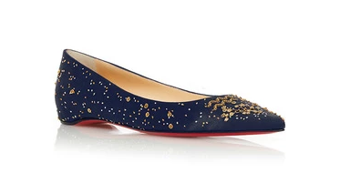 The Aquarius Ballerina Flat by Christian Louboutin   Moda Operandi1