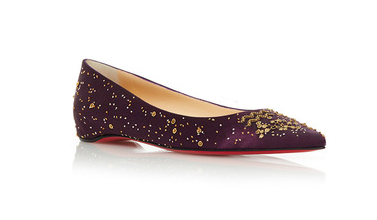 The Aquarius Ballerina Flat by Christian Louboutin   Moda Operandi2